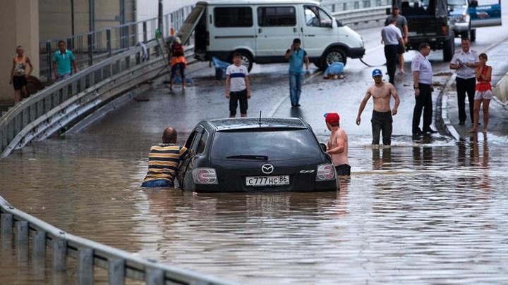 Герои и антигерои потопа в Краснодарском крае