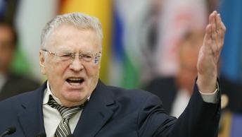 После поцелуев Жириновский отказался и от рукопожатий