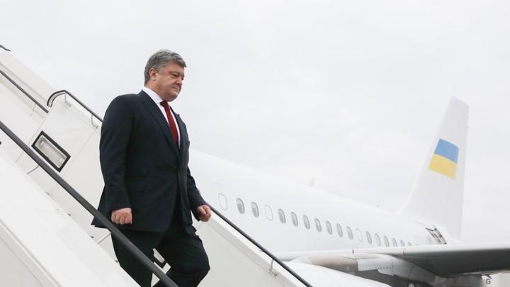 Киев не смогдобиться встречи Порошенко с Трампом в феврале