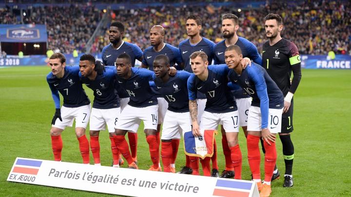 Сборная Франции: взбучка от Дешама