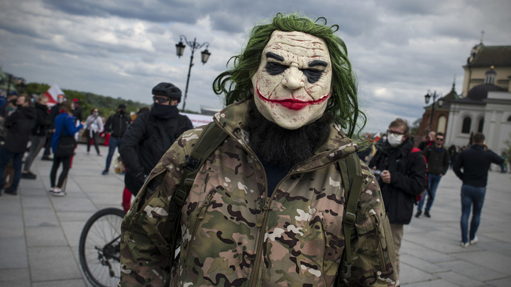 А помнится, кое-кто со мной не соглашался?: Протесты в США сравнили с культовой сценой Джокера