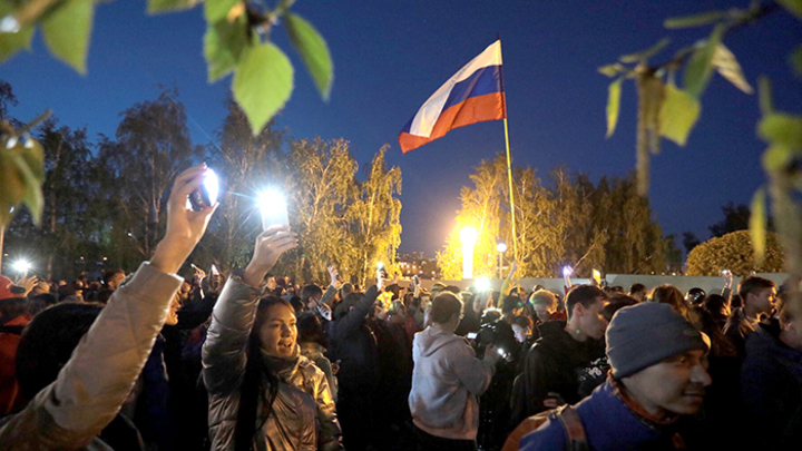 Екатеринбург показал всей России, «кто здесь власть»