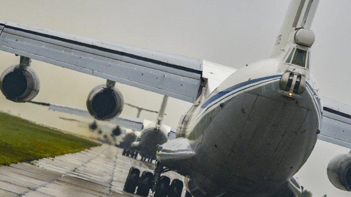 Самолёт МЧС России кружит над Москвой - неполадки с гидросистемой, сообщают СМИ