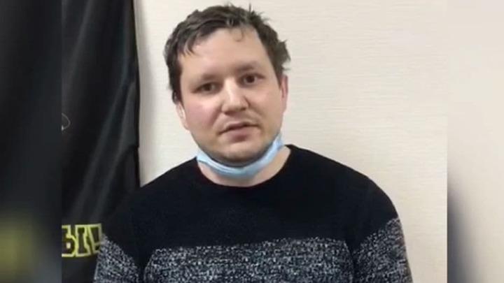 Напавшего на полицейского в центре Петербурга во время акций протеста приговорили к колонии
