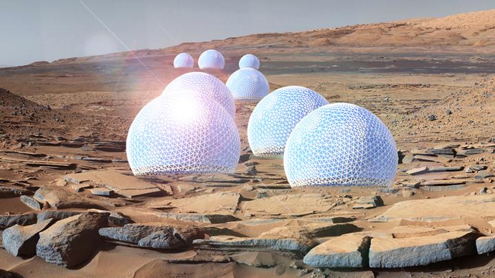 Уфологи-любители уверены, что люди уже успели побывать на Марсе