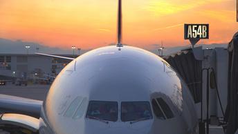 СМИ: Самолет с отказавшим двигателем приземлился в Саратове