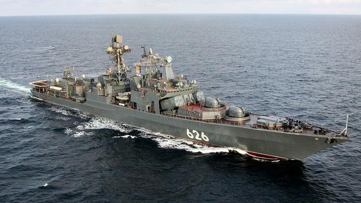 Вице-адмирал Кулаков навел ужас на британскую прессу, появившись в водах Ла-Манша