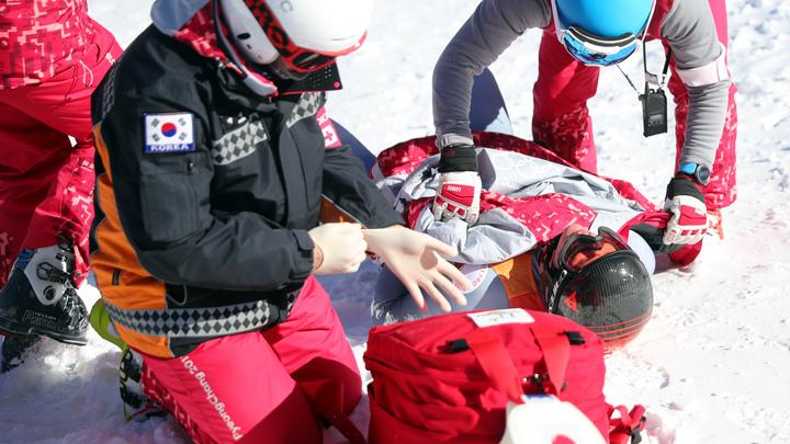 Русский горнолыжник Трихичев доставлен в больницу после падения на Олимпиаде-2018