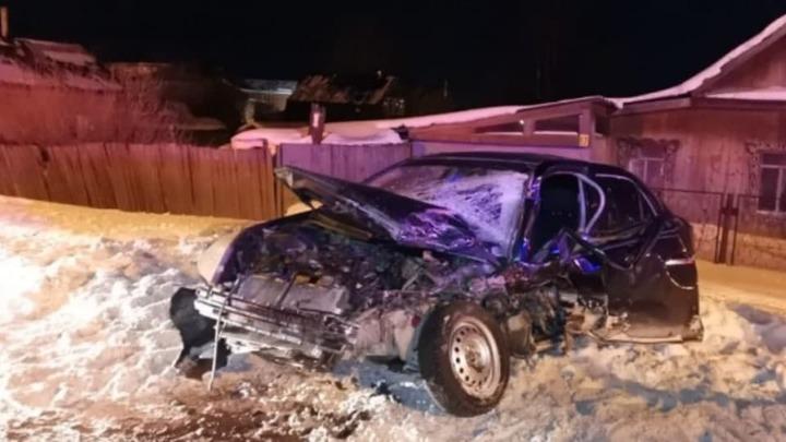 Пьяный водитель протаранил полицейский УАЗ при погоне в Первоуральске