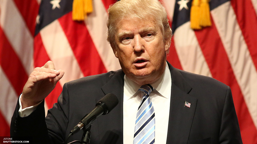 Трамп произнес речь героини фильма «Блондинка взаконе»