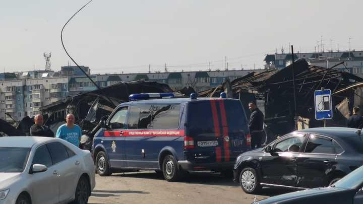 Расследование пожара на АЗС в Новосибирске передали в центральный аппарат СК