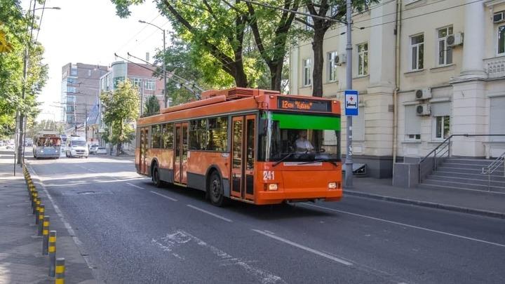 В Краснодаре временно изменится схема движения шести троллейбусов
