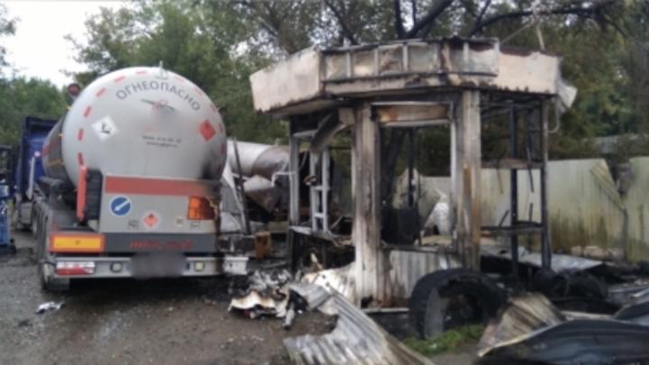 В Самаре возбуждено уголовное дело по факту взрыва газа на АЗС: пострадал один человек
