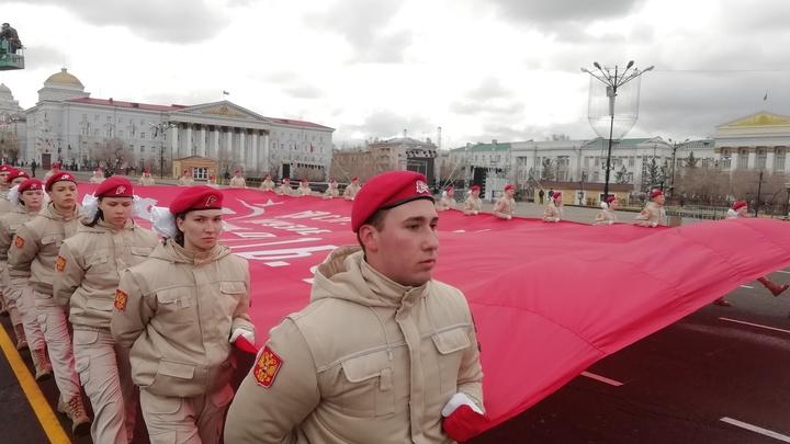Генеральная репетиция Парада Победы в Забайкалье: фоторепортаж