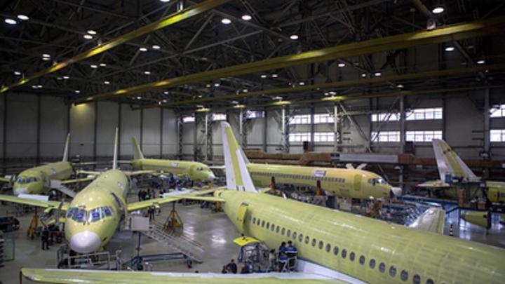 Российская авиация пошла на взлет: Производство самолетов набирает обороты