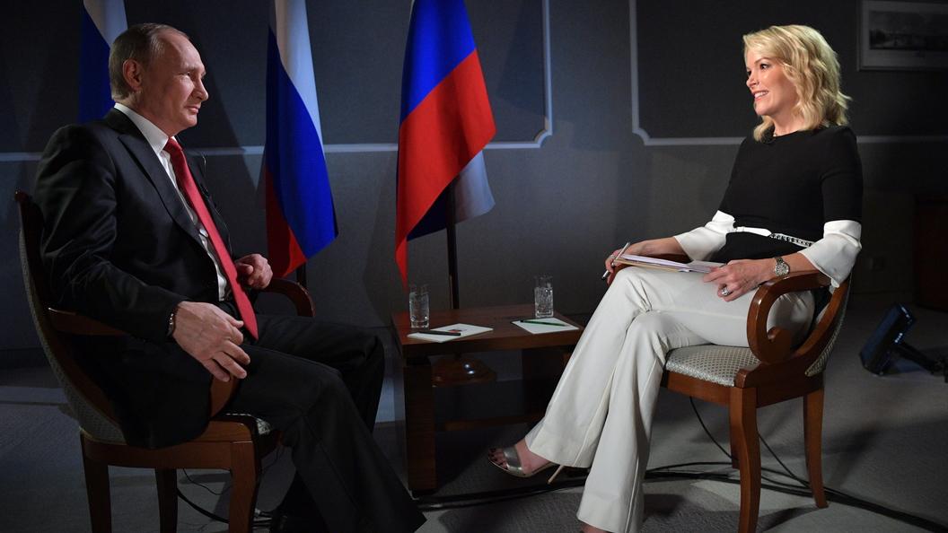 СМИ: Жесткий разговор ведущей NBC оказался для Путина детской игрой