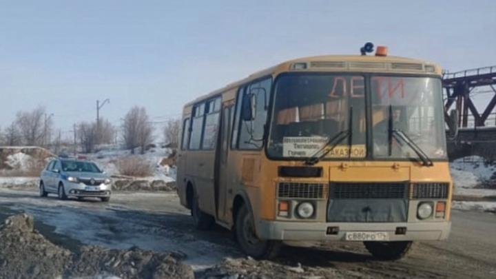 В Челябинской области пьяный водитель управлял школьным автобусом