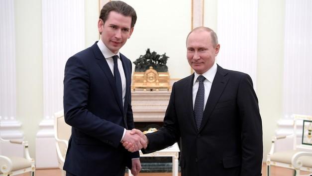 Путин и Курц обсудят 50-летие поставок газа из СССР в Европу