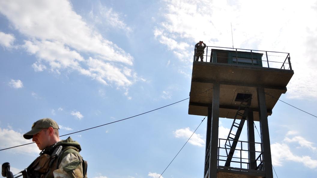 Украинские пограничники растащили деньги на Стену