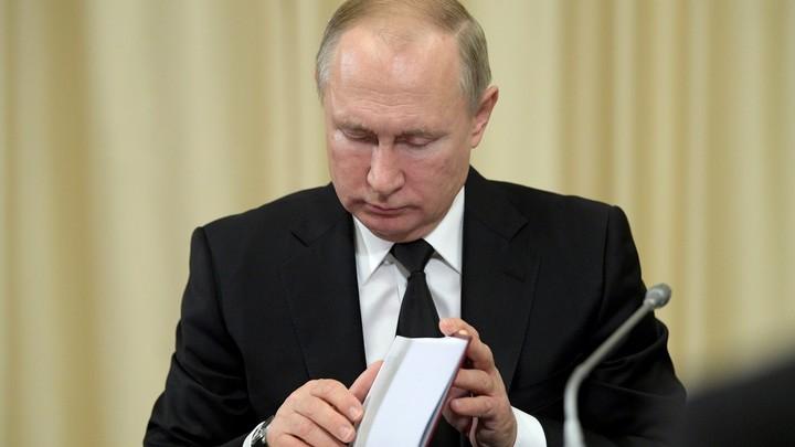 Уходящий год был таким...: Путин ответил на вопрос о самом важном дне в 2019 году