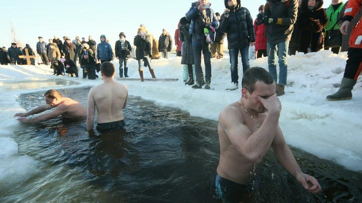 Верующих лишают крещенских купаний - в Омске пугают раздевалками