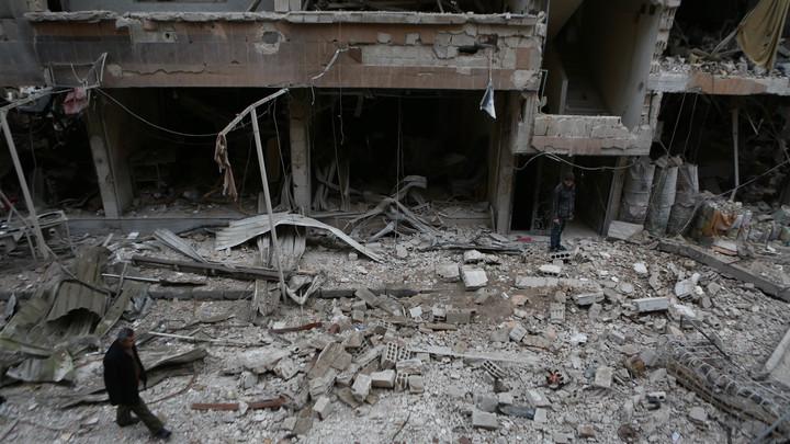 Минобороны РФ: Боевики провоцируют ВС Сирии и угрожают мирным жителям в Восточной Гуте