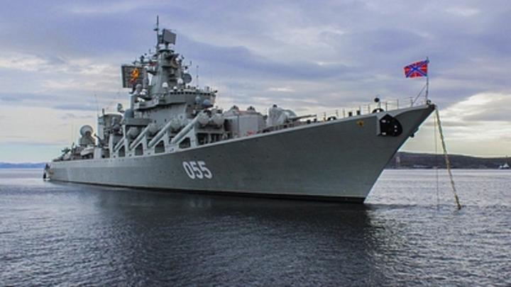 Нарушение демократии группой лиц по предварительному сговору: Российский крейсер под салют вошёл в Кейптаун