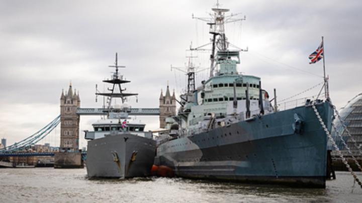 Русские корабли измотали королевский флот одним своим присутствием. Адмирал пожаловался