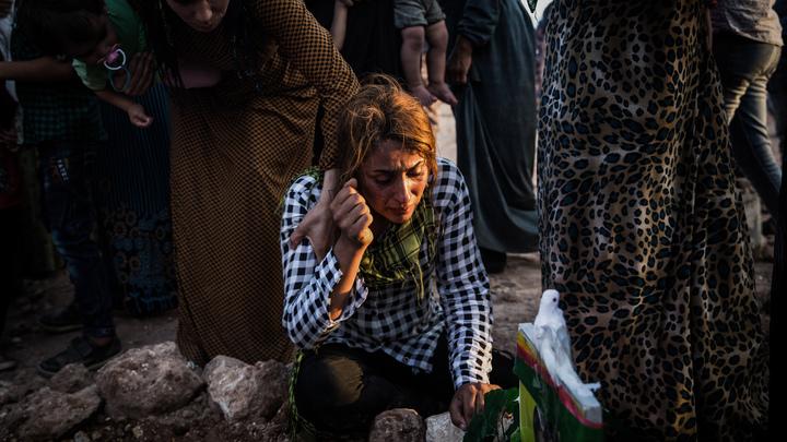 14 мирных жителей погибли в Сирии во время авиаудара американской коалиции