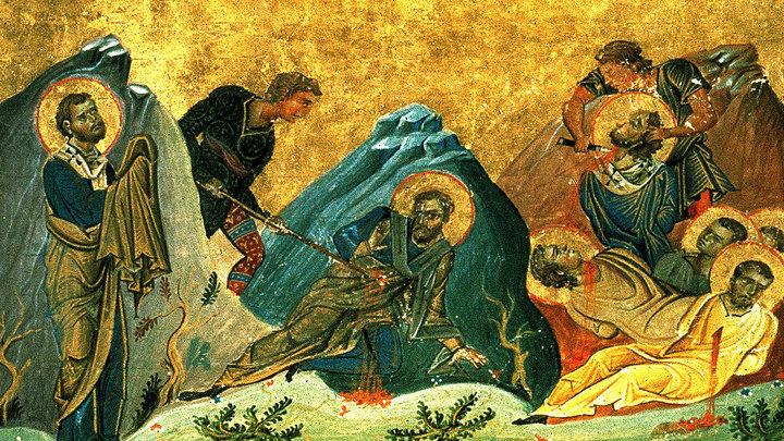 Шестеро от семидесяти. Апостолы Стахий и Амплий со товарищи. Церковный календарь на 13 ноября