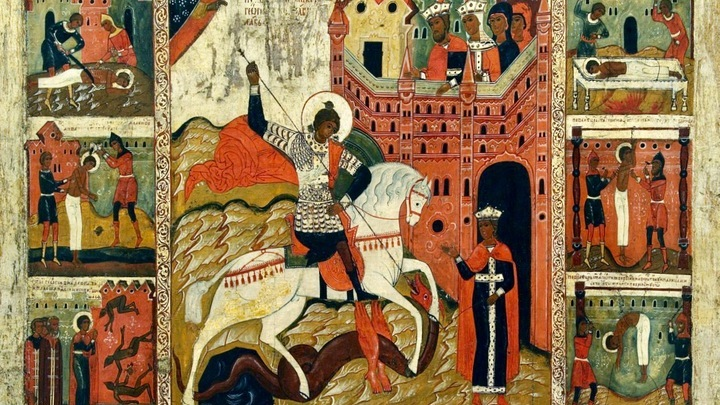 Юрьев день. Освящение церкви великомученика Георгия в Киеве. Церковный календарь на 9 декабря