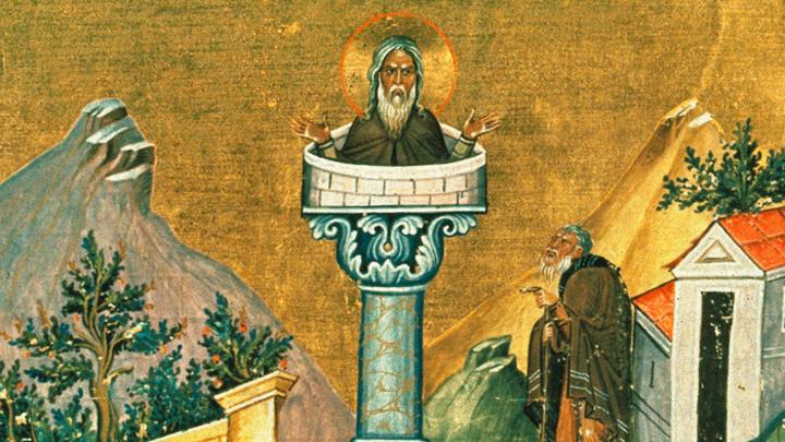 Великий затворник. Преподобный Даниил Столпник. Церковный календарь на 24 декабря