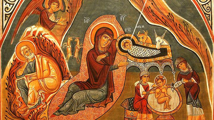 С нами Бог. Светлый праздник Рождества Христова. Церковный календарь на 7 января