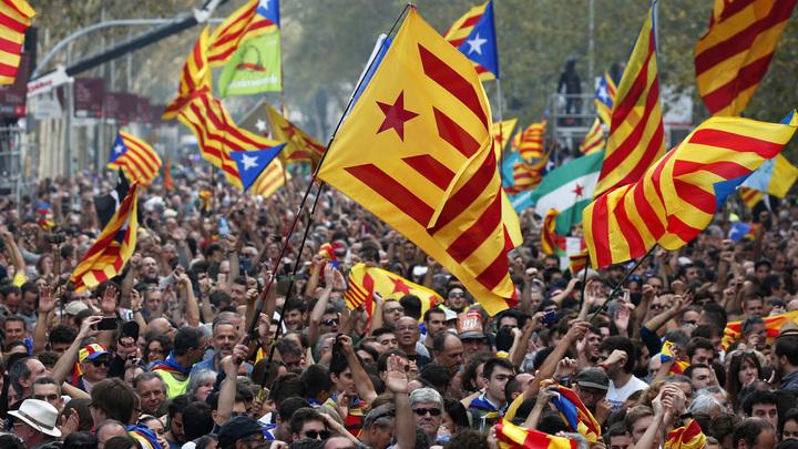 Каталонские националисты призвали народ к всеобщей забастовке