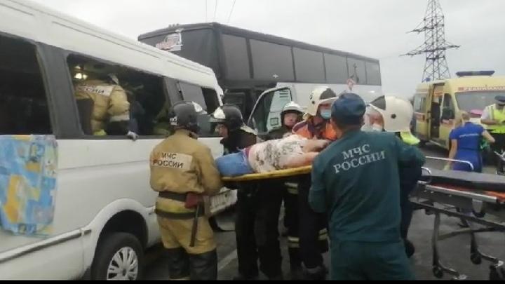 В Анапе осудят водителя заказного автобуса, устроившего ДТП