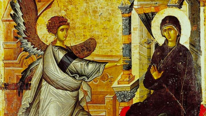 Главная весть для всего мира. Благовещение Пресвятой Богородицы. Церковный календарь на 7 апреля