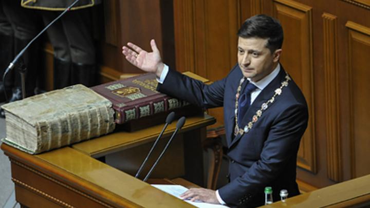 Зеленского попросили на Украине в отставку спустя два дня после инаугурации