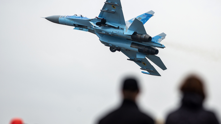 Журналистов не пускают на место крушения Су-27 из-за угрозы взрыва боеприпасов - видео