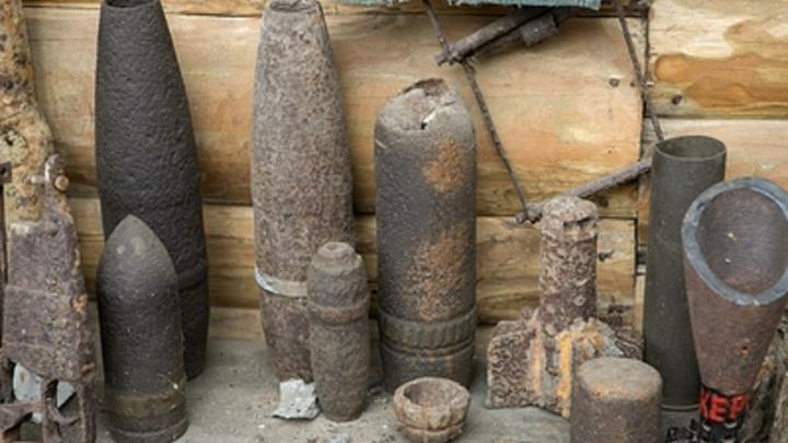 Житель Читы хранил в гараже взрывоопасный сувенир