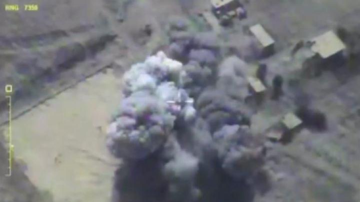 Российские Калибры превратили в пепел военные объекты террористов ИГИЛ - видео