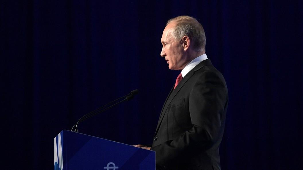 Путин предложил разработать проект антиметеоритной защиты планеты
