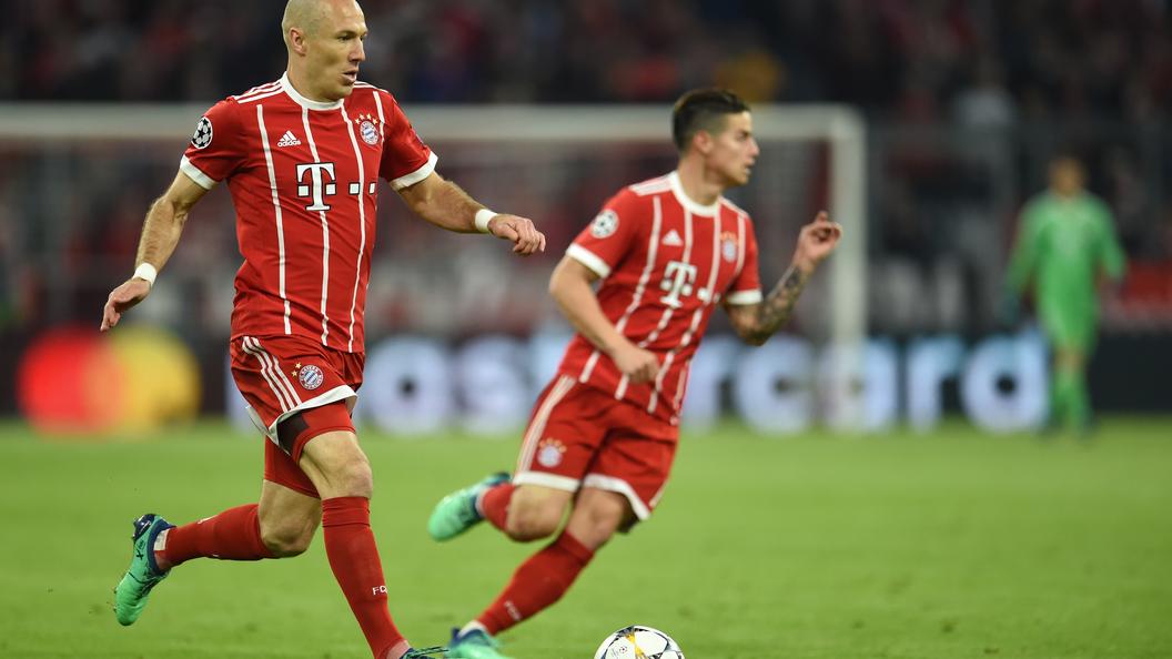 «Реал» и«Бавария» вышли вполуфинал Лиги чемпионов