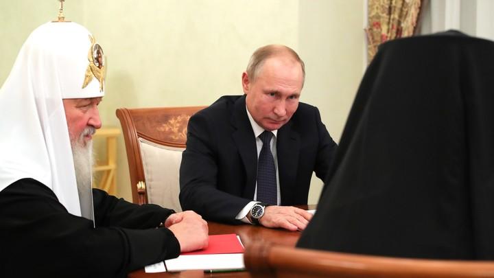 Не отступать: Президент Путин и Патриарх Кирилл объявили о начале Русского прорыва