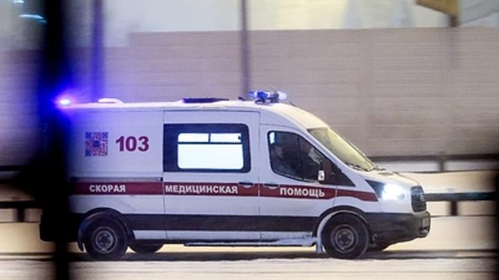 В Новосибирске произошло ДТП с участием трамвая №13 и скорой помощи