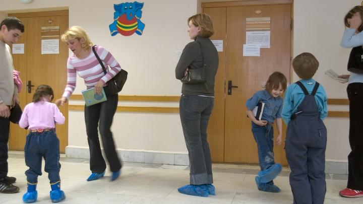 ВЕкатеринбурге детские поликлиники не справляются с наплывом пациентов