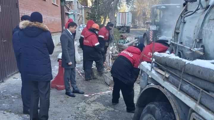 Крупная коммунальная авария в Ростове: Без тепла и горячей воды остались сто домов и 12 соцобъектов