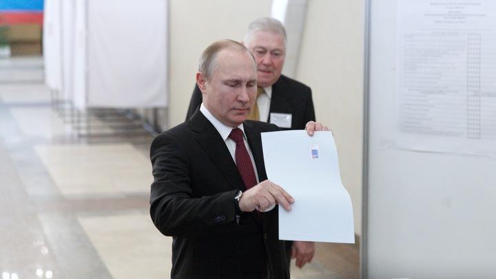 Американские СМИ: Победу Путина обеспечили мужеложцы