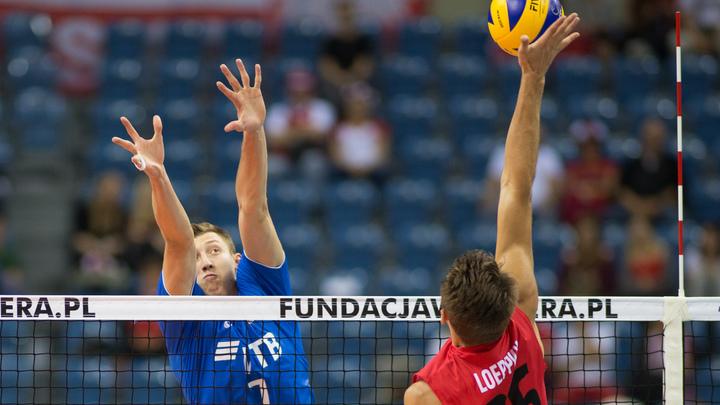 Волейболисты из России побили рекорд США - видео