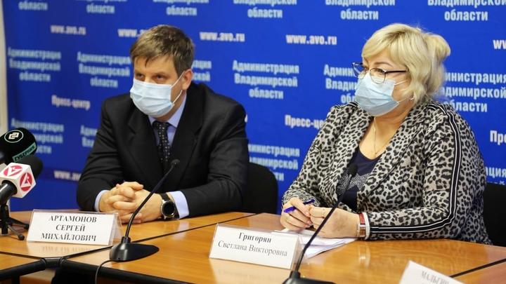 Реанимация ковидного госпиталя на базе ОКБ во Владимире полностью заполнена тяжелыми больными