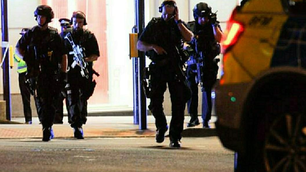 В центре Лондона раздался громкий взрыв
